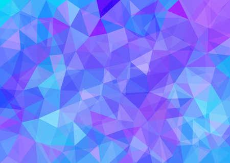 多角形の抽象的な背景。  イラスト・ベクター素材
