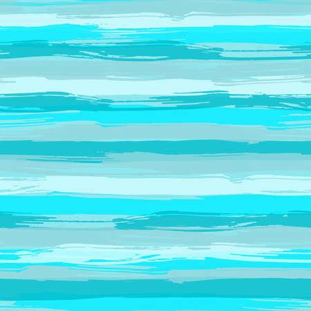 Vector sin patrón, con pinceladas azules. Mar de fondo de rayas en tonos de azul aqua. Textura para web, impresión, papel pintado, decoración para el hogar o sitio web de fondo Foto de archivo - 42286780