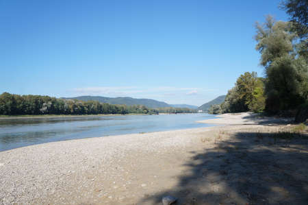 The Danube river, Austria photo