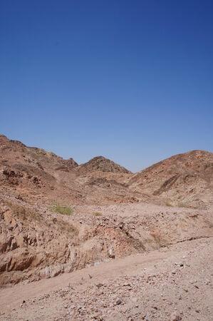 eilat: Wadi Shahamon near Eilat, Israel Stock Photo