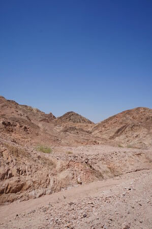 wadi: Wadi Shahamon near Eilat, Israel Stock Photo