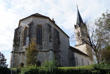 Church in Novo mesto, Slovenia Reklamní fotografie