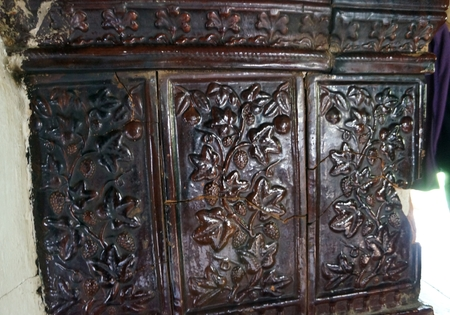 woodburning: Antique woodburning stove