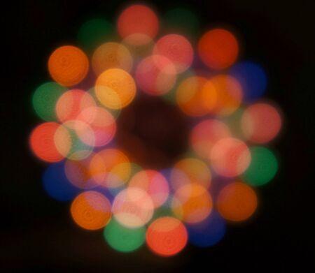 Blurred Christmas Blurred Christmas Lights