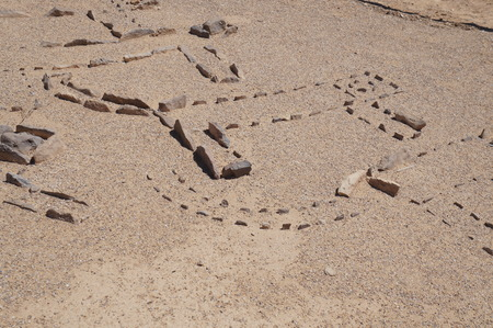 arava: The temple of leopards, well known archeological site in Arava, South Israel