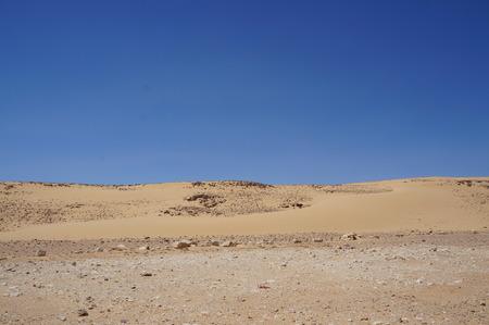 arava: Sand dunes in Arava desert, South Israel Stock Photo