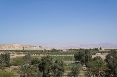 arava: View to the Arava desert and Edom mountains