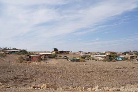 arava: Shaharut village in the middle of Arava desert, Israel