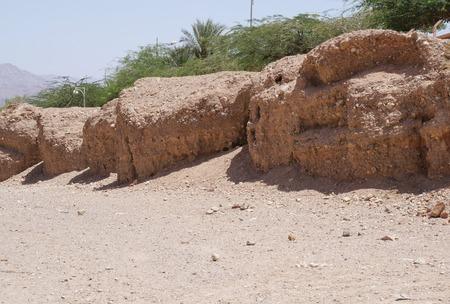 Wadi Shahamon near Eilat, South Israel Stock Photo