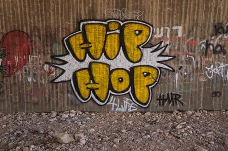 Graffiti, street art by unidentified artist on May 22, 2016 in Eilat, Israel