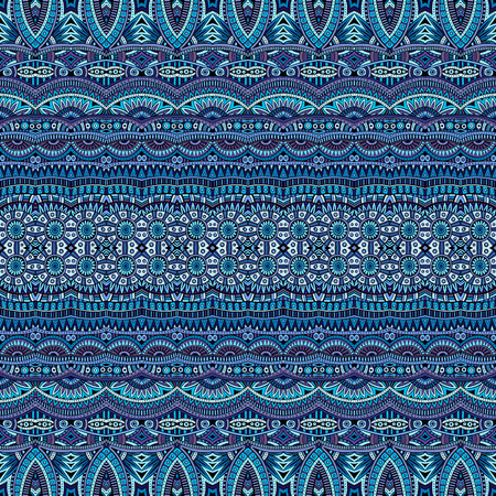 抽象的なベクトルの部族の民族的背景のシームレス パターン  イラスト・ベクター素材