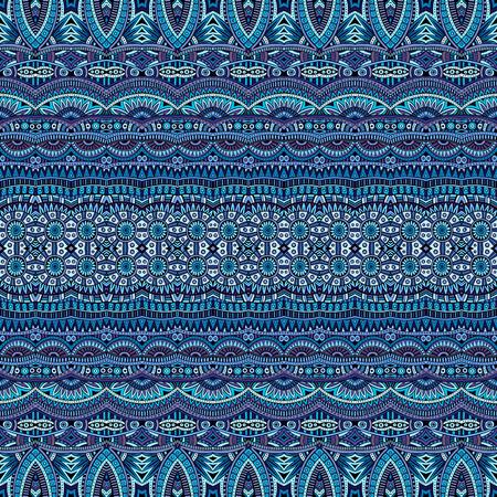 batik: Résumé vecteur de fond ethnique tribal, seamless