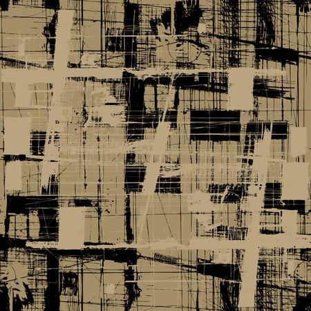 Grunge vector seamless texture background
