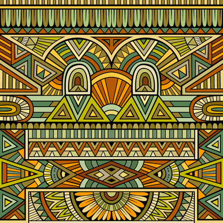 vitrage: Abstract vector tribal ethnic background