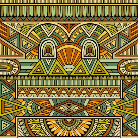 cultura maya: Resumen de vectores de fondo tribal étnica