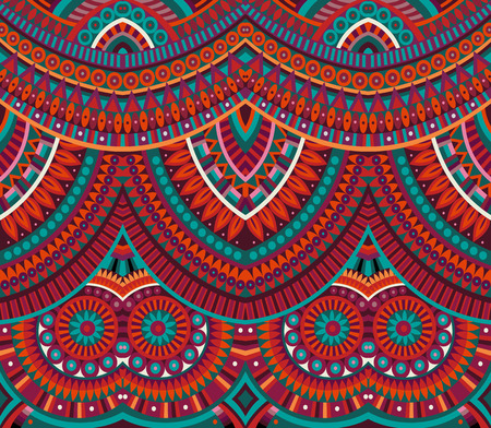 african fabric: tribal ethnic background seamless pattern