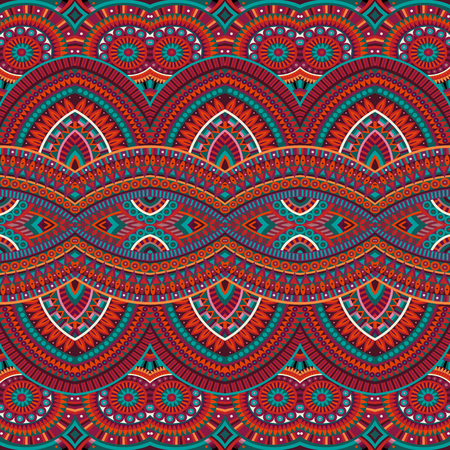 tribal ethnic background seamless pattern Vector