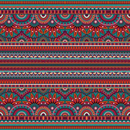 vitrage: tribal ethnic background seamless pattern