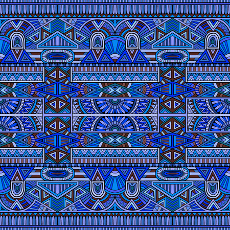 african culture: tribal ethnic seamless pattern