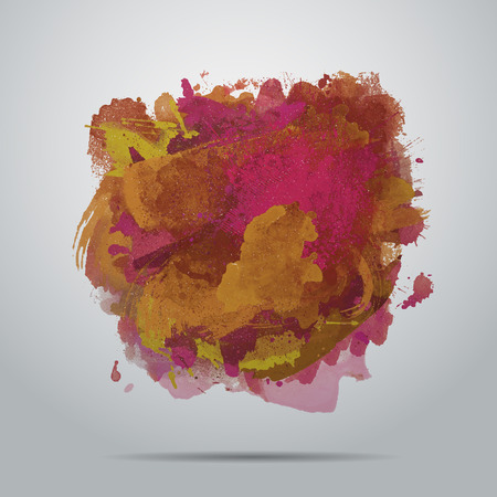 abstract art hand painted watercolor background Illustration