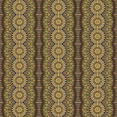 vitrage: Abstract vector tribal ethnic background seamless pattern