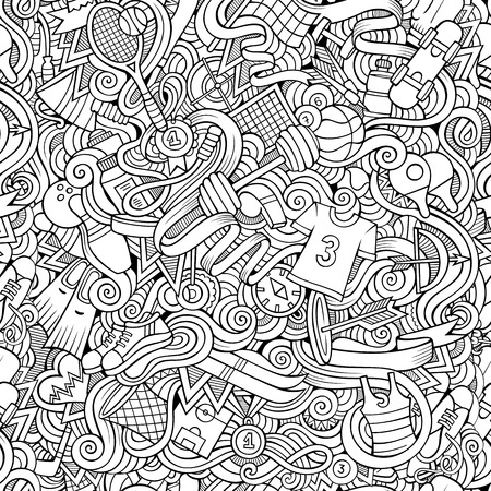 boxing tape: Seamless abstract pattern sports and fitness background Illustration