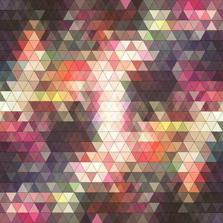 unfocused: Abstract triangles background for design - vector illustration Illustration