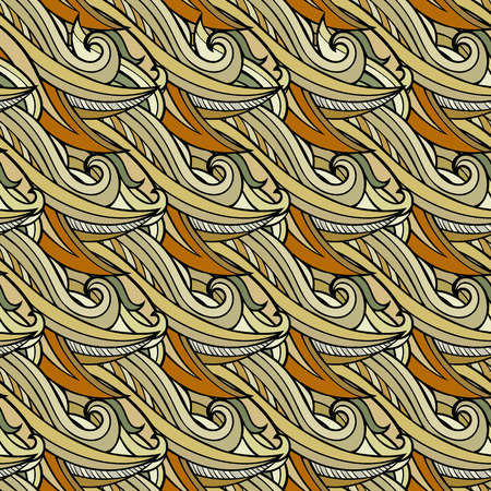 doğa arka: seamless abstract nature pattern. Endless background.