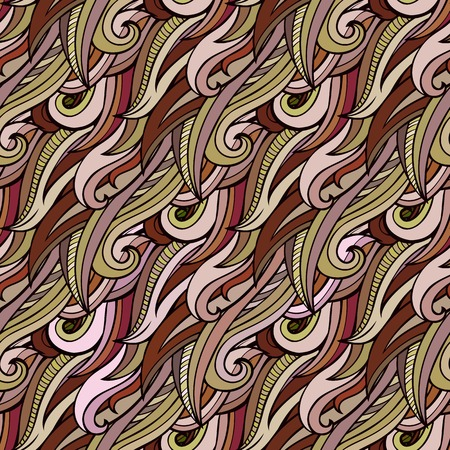 nature abstraite: seamless abstract nature pattern Illustration