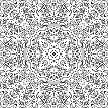 Abstract vector ethnic sketchy background Stock Vector - 80105859