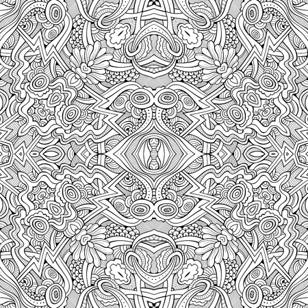 Abstract vector ethnic sketchy background Stock Vector - 80565054