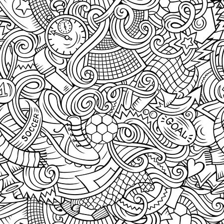 Cute doodles pattern.