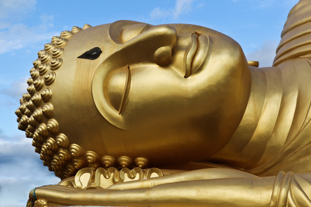reclining: Reclining Buddha