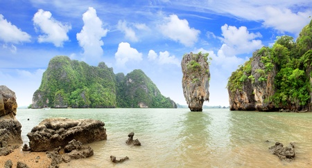 blue lagoon: James Bond Island, Phang Nga, Thailandia