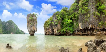 James Bond Island, Phang Nga, Thailand Stock Photo - 8737705