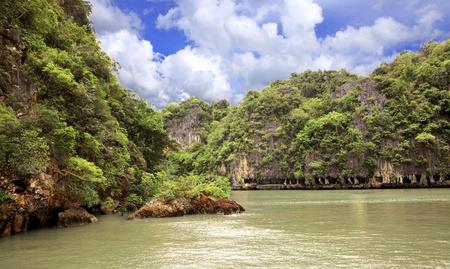 Islands in Andaman sea photo