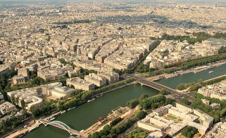 deiffel: Kind to Paris from Tour dEiffel height