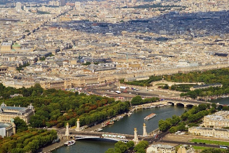 d'eiffel: Kind to Paris from Tour dEiffel height