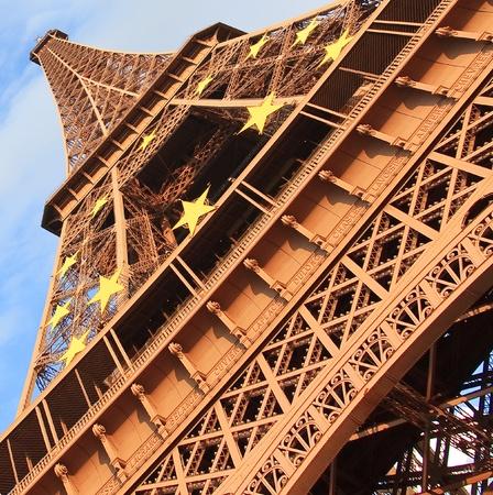 The Eiffel Tower, Paris, France Stock Photo - 9695375