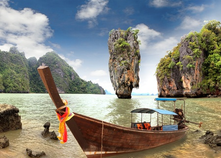 james bond's island: James Bond Island, Phang Nga, Thailand