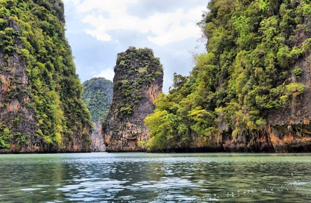 james bond's island: Island Phang Nga, Thailand Stock Photo