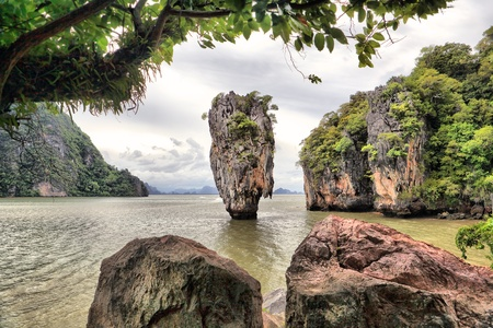 James Bond Island, Phang Nga, Thailand Stock Photo - 10061072