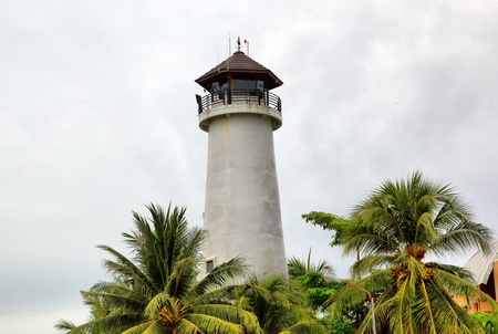 bill baggs: Beacon on island Phuket, Thailand Stock Photo