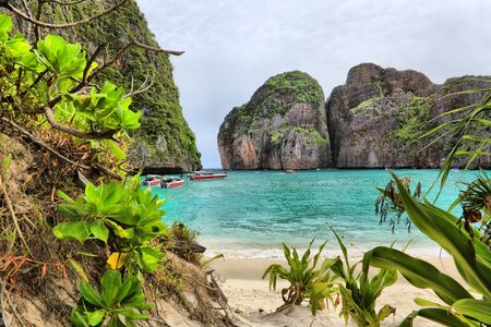 places of interest: Maya bay of Phi-Phi island