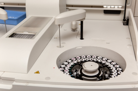 centrifuge: modern robotical machine for centrifuge blood and urine testing