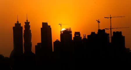decline in Dubai under construction