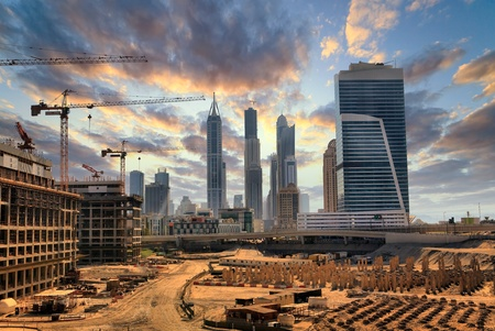 grandiose: Grandiose construction in Dubai, the United Arab Emirates