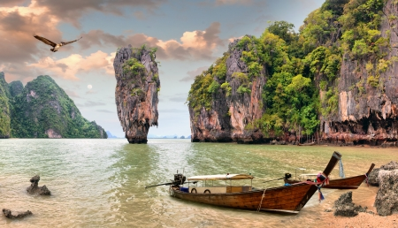 James Bond Island, Phang Nga, Thailand photo