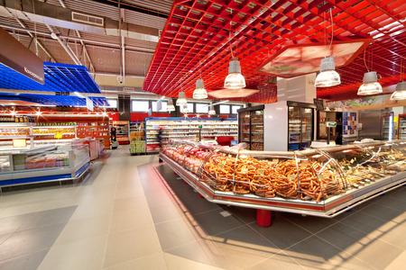 VITEBSK, BELARUS - JULY 19: Shopping center Hanna on july 19, 2012 in Vitebsk, Belarus. Hanna is one of the largest Belarusian companies