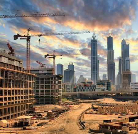 grandiose: Grandiose construction in Dubai, the United Arab Emirates